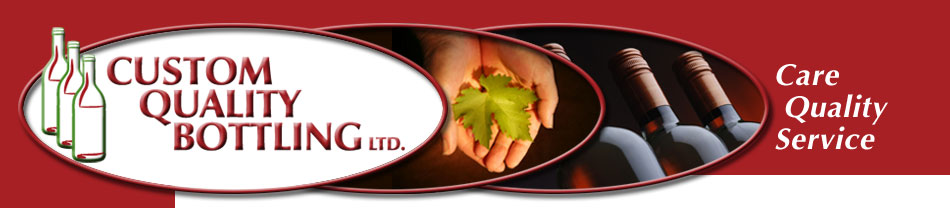 Custom Quality Bottling Home Page